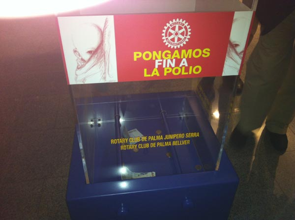 Hucha Rotaria 3 - 600