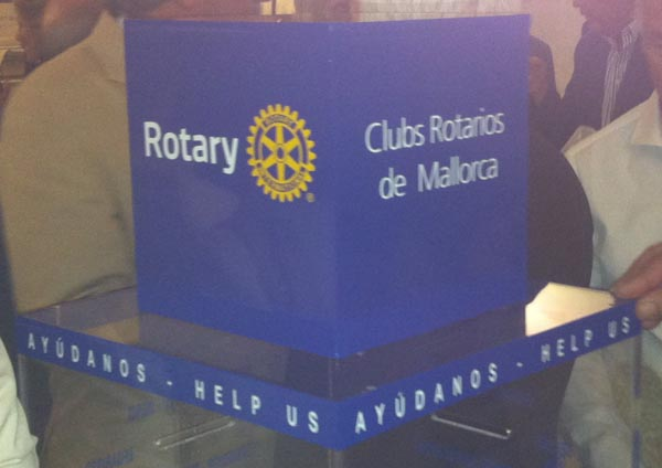 Hucha Rotaria 4 - 600